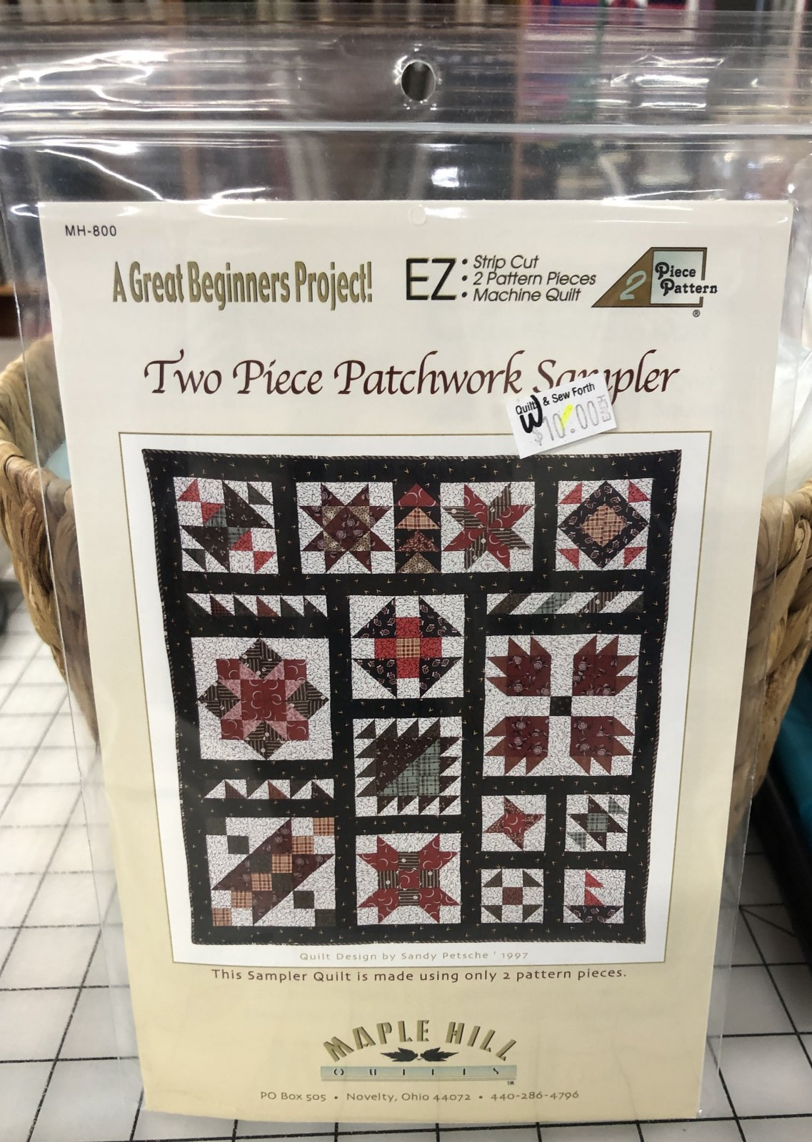 Two Piece Patchwork Sampler