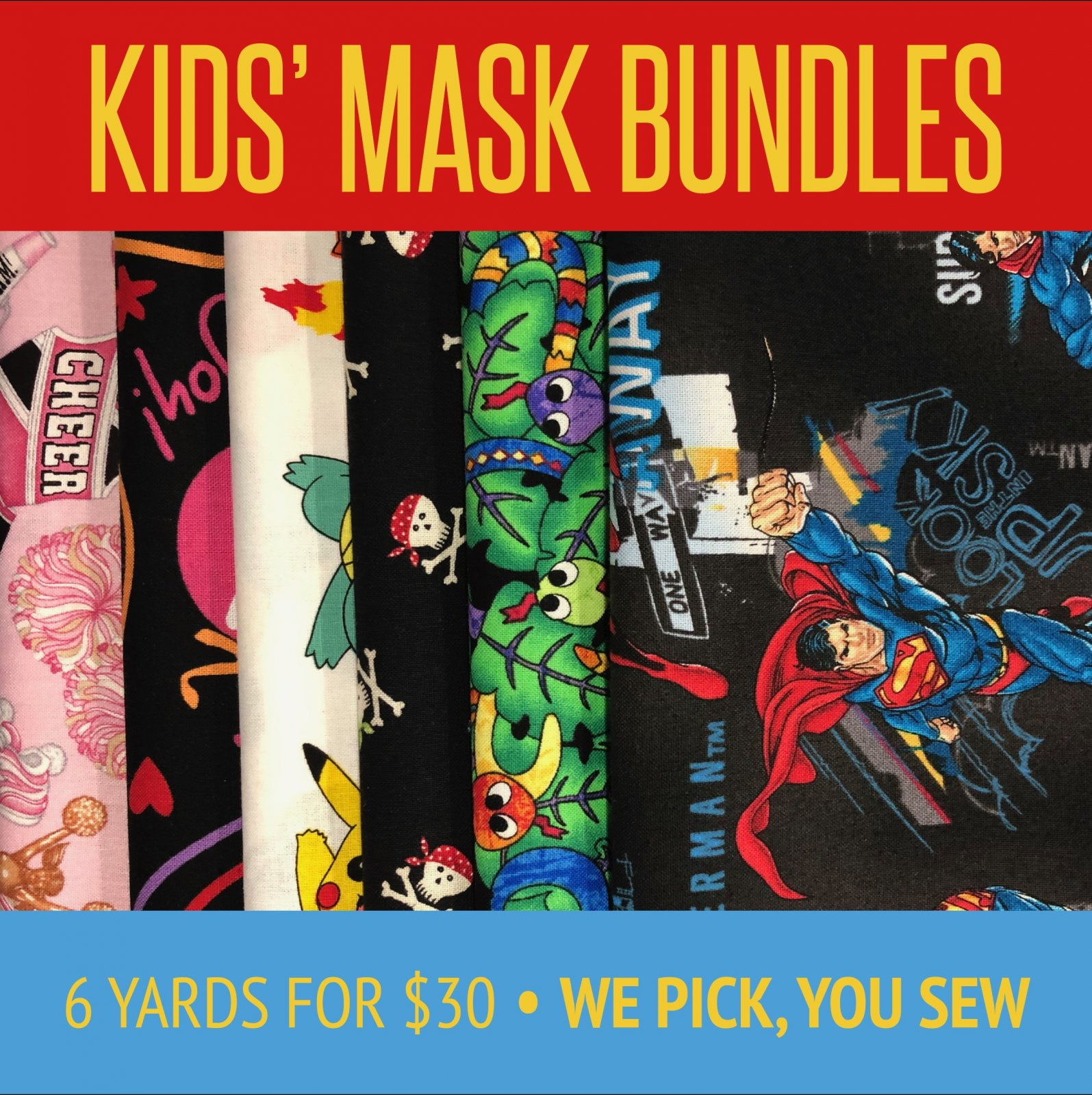 KIDS BUNDLES for masks