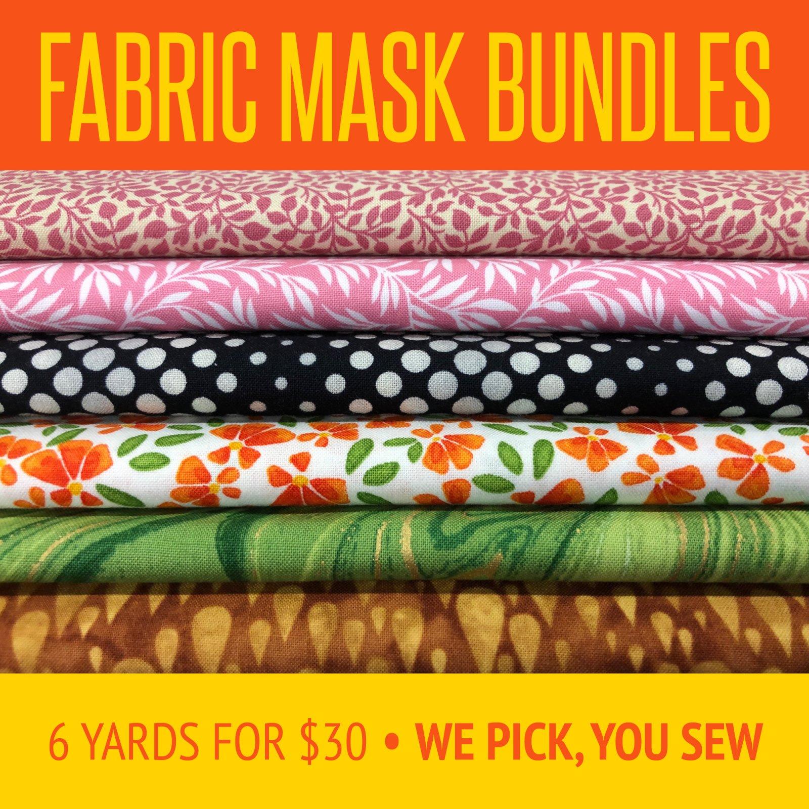 FABRIC BUNDLES for masks