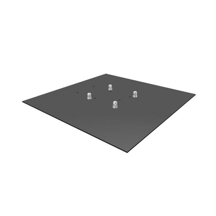 Global Truss Base Plate 3.3S - 3' x 3' Steel Base Plate