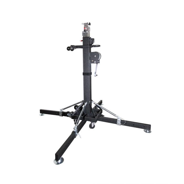 Global Truss ST-180 - 18' Heavy Duty Crank Stand with Outriggers