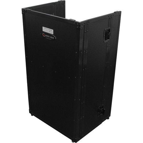 Odyssey Case FZF2136BL - DJ Fold-Out Stand - 21 Wide x 36 Tall - Black