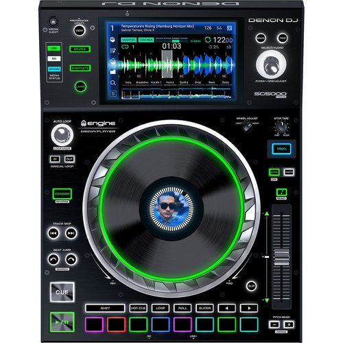 Denon DJ SC5000 Prime - Professional DJ Media Player with 7 Multi-Touch Display