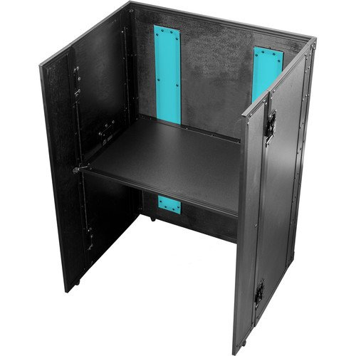 Odyssey Case FFX2F2636BL - DJ Combo Table, Fold-Out with LED Panel - 26 x 36