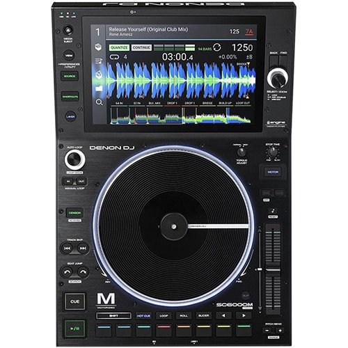 Denon DJ SC6000M - Prime Professional Dual-Layer Media Player with 10.1 Multi-Touch Display