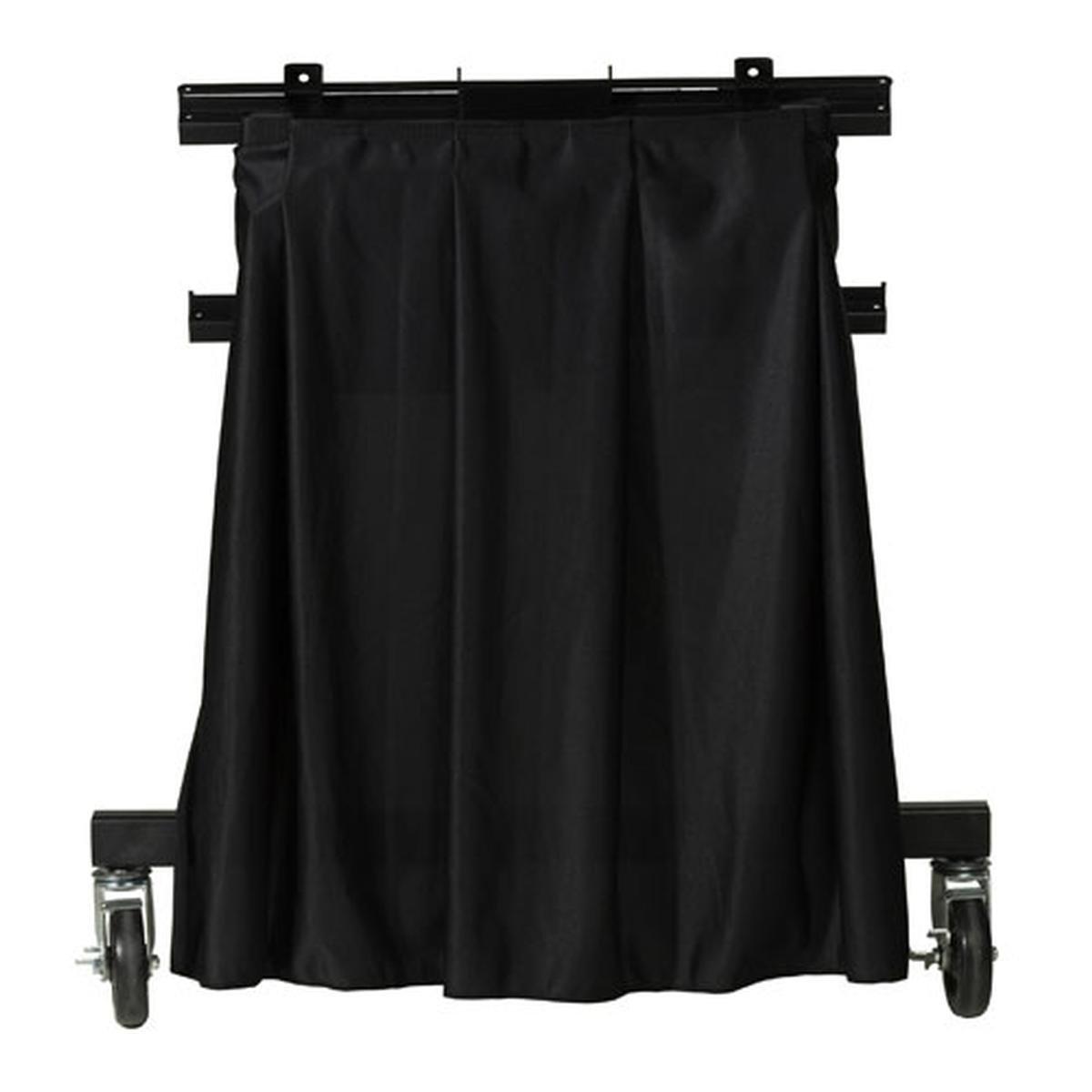 Da-Lite Skirt - Drapery for Confidence Monitor Stand