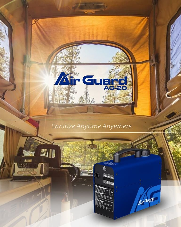 Air Guard AG-20 Sanitizing Machine - Battery