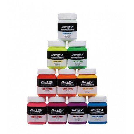 Antari DFX-UV06VP  UV Paint Variety Pack - 6oz - 10 Pack