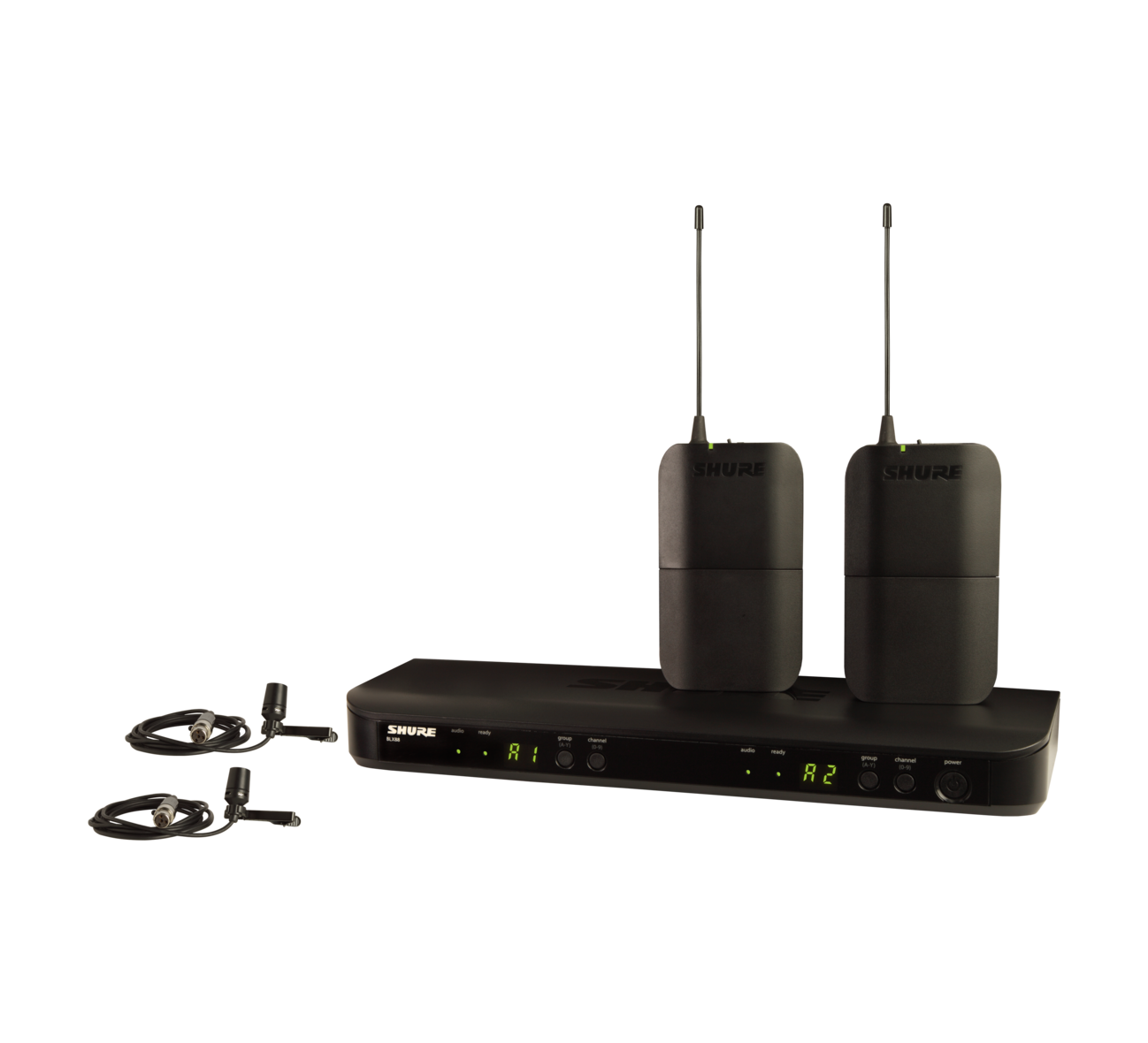 Shure BLX188/CVL Dual Lavalier Wireless System - CVL