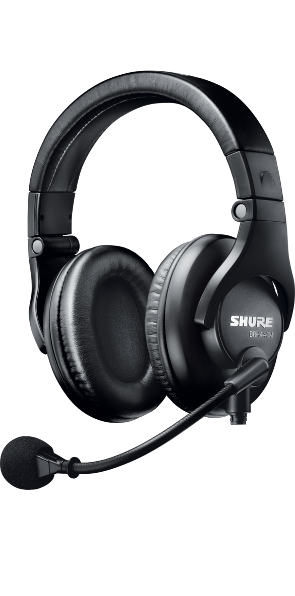 Shure BRH440MLC Dual-Sided Intercom Headset