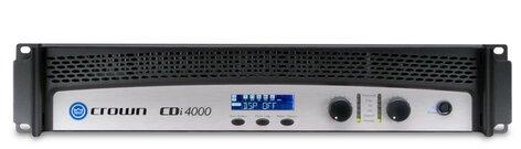 Crown CDi 4000 Power Amplifier - 2 Channel, 1200W @ 4Ω, 70V/140V