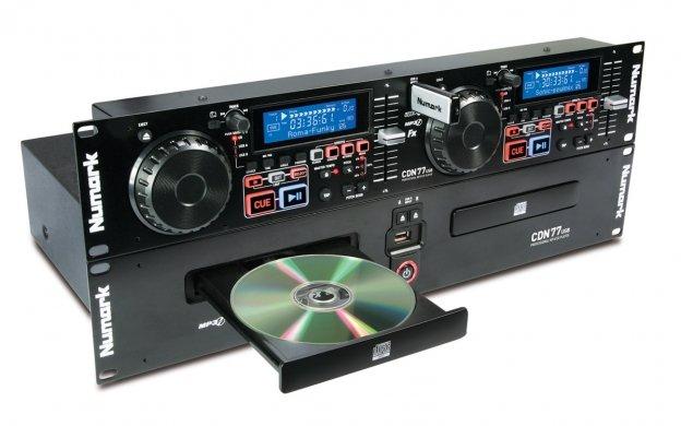 Numark CDN77USB Professional Dual CD and USB Media Player