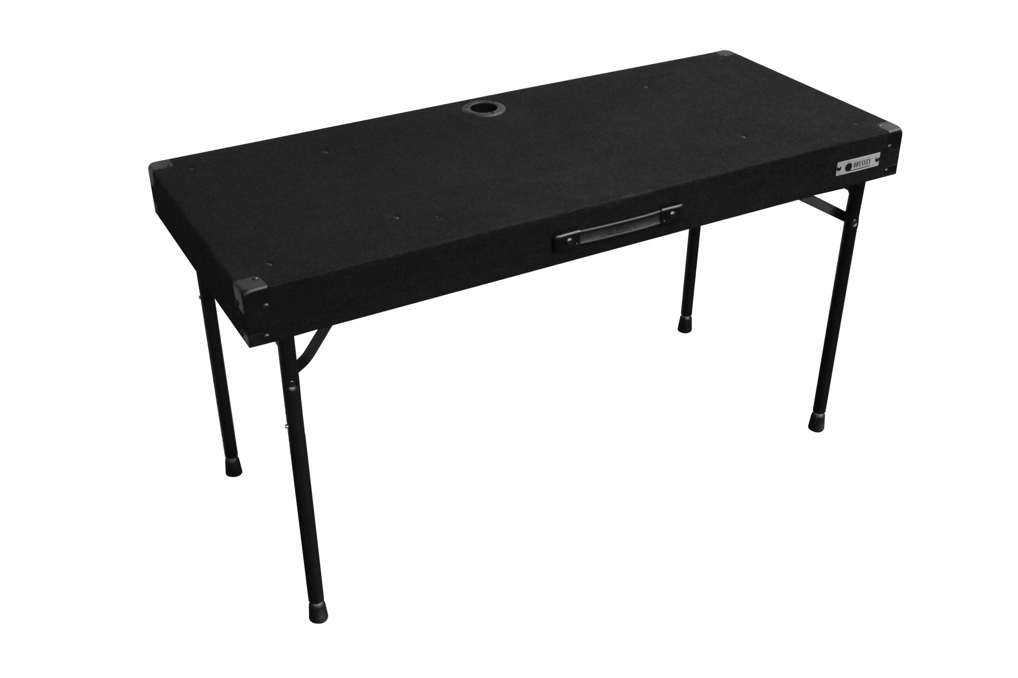 Odyssey Case CTBC2048 - DJ Work Table, Adjustable Legs, Carpeted