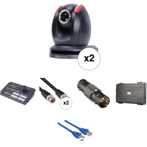 Data Video GO-2CAM - 2 PTC-150 PTZ Camera Go Kit