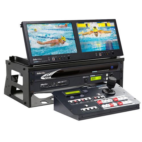 Data Video GO KMU-100 STUDIO - 2-Camera 8-Shot Portable Video Production Studio Bundle