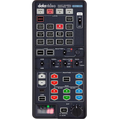 Data Video MCU-100J - Handheld Multi-Camera Controller for JVC Camcorders