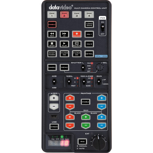 Data Video MCU-100S - Handheld Camera Controller for Sony Cameras