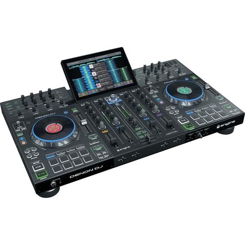 Denon DJ Prime 4 - Standalone 4-Deck DJ System with 10 Touchscreen