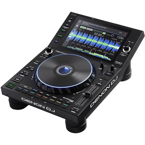 Denon DJ SC6000 Prime - Professional Dual-Layer Media Player with 10.1 Multi-Touch Display