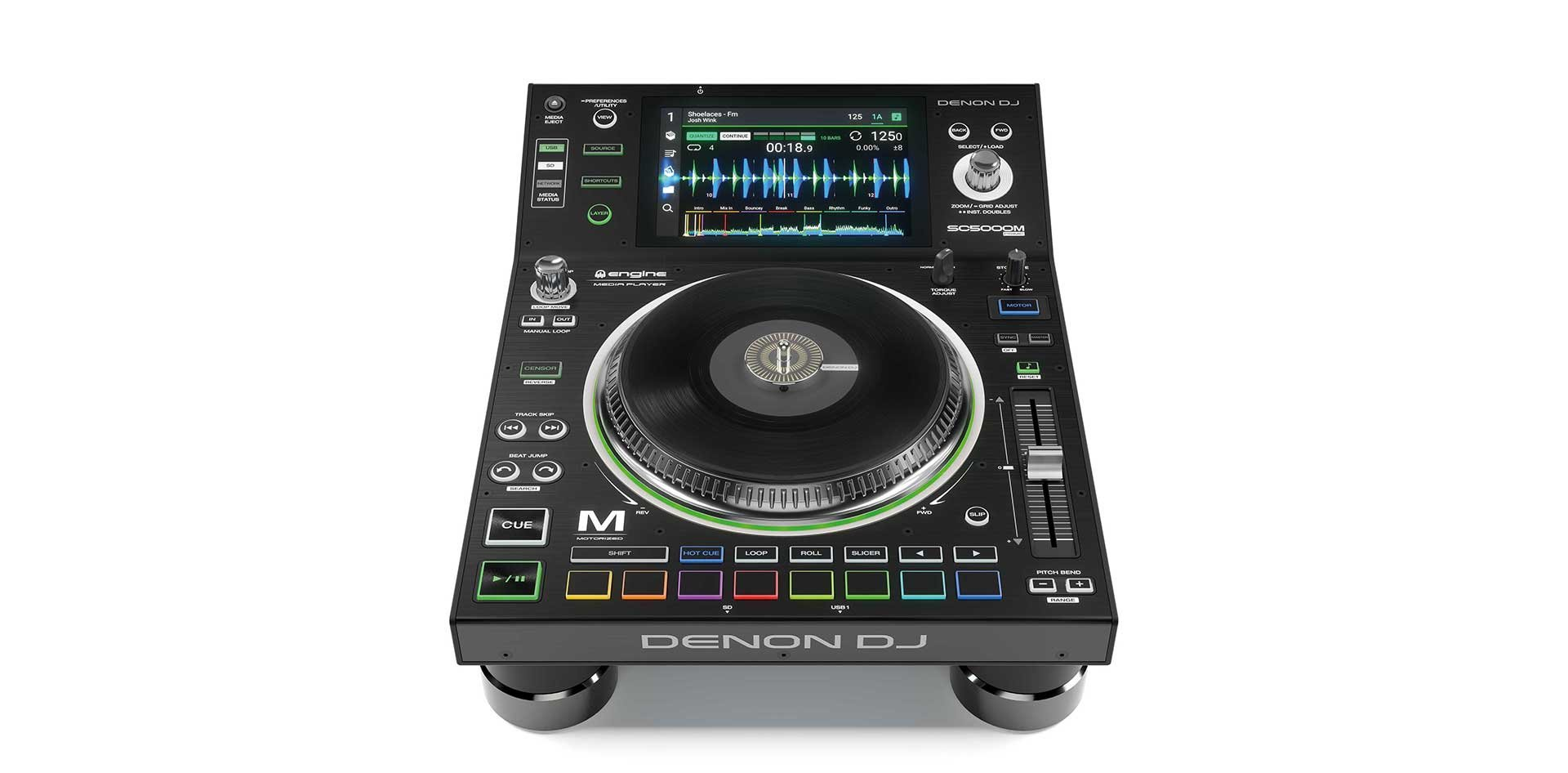 Denon DJ SC-5000M Prime - Professional DJ Media Player with 7 Display