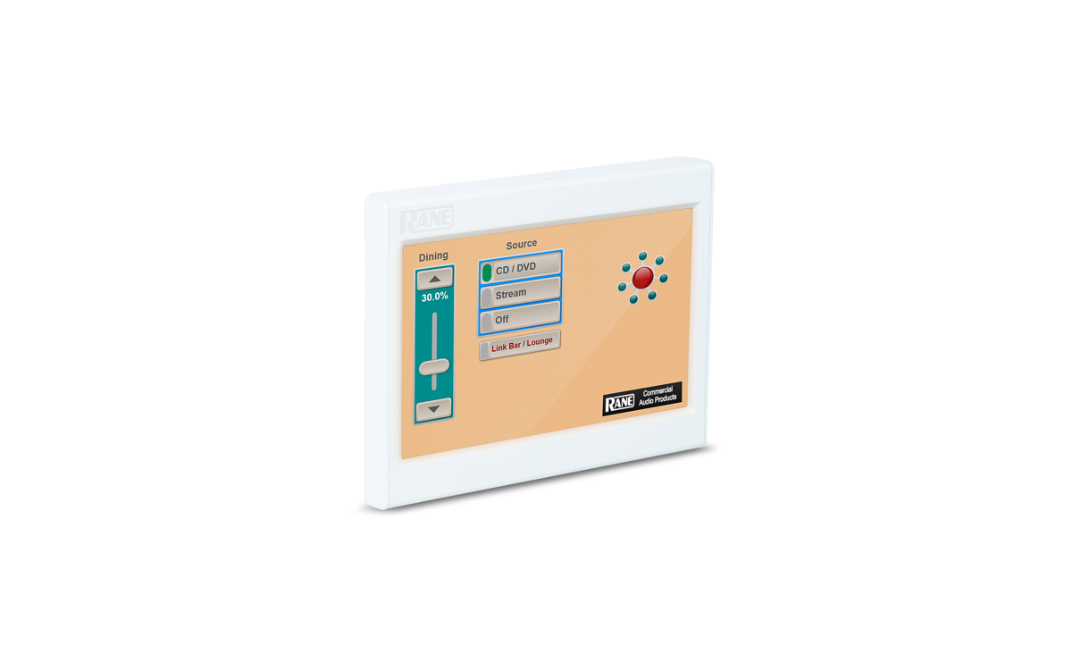 Rane DR6 Digital Touchscreen Remote