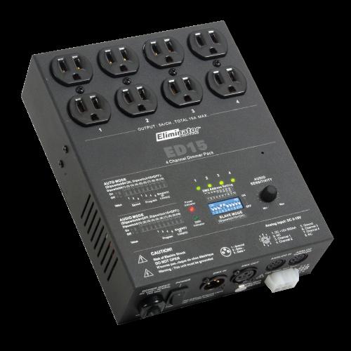 Eliminator ED15 - 4 Channel Dimmer Pack