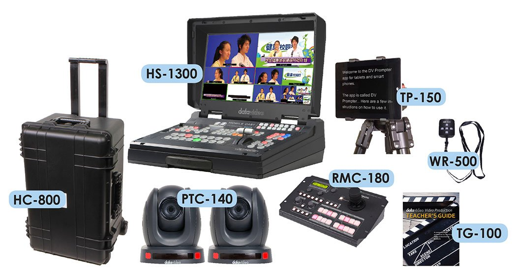 Data Video EPB-1340 - K-12 Two Camera Video Production Studio