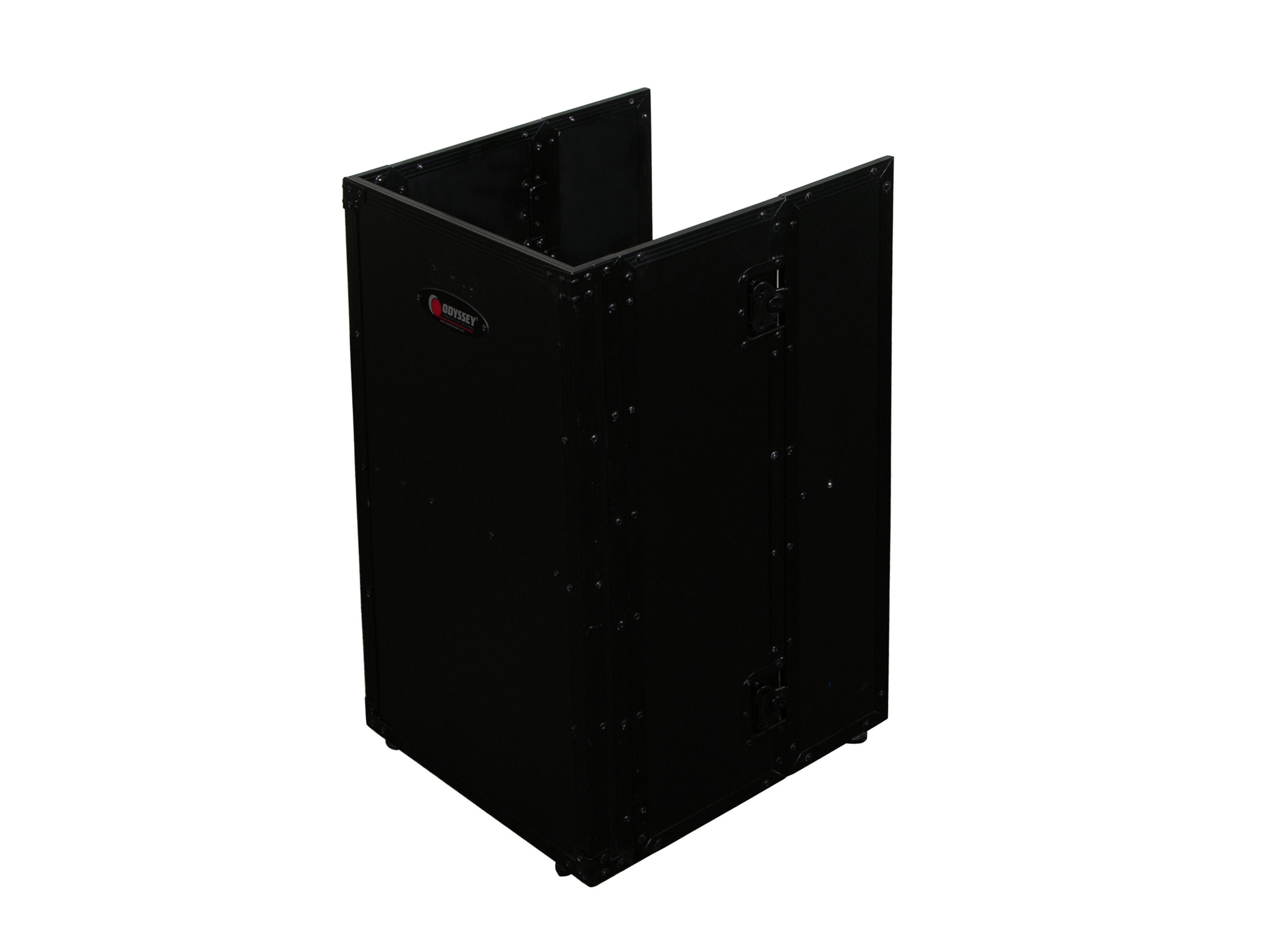 Odyssey Case FZF1930BL - DJ Fold-Out Stand - 19 Wide x 30 Tall - Black