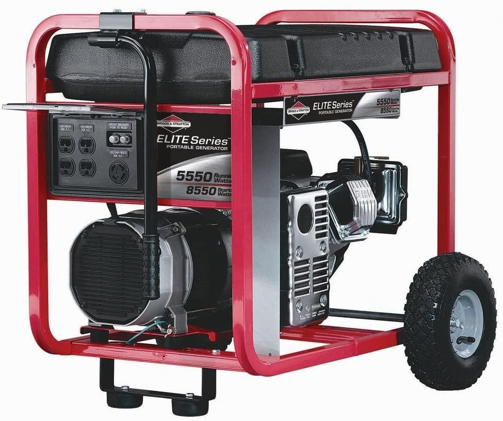 Rental Generator - Briggs & Stratton Elite - 5500W