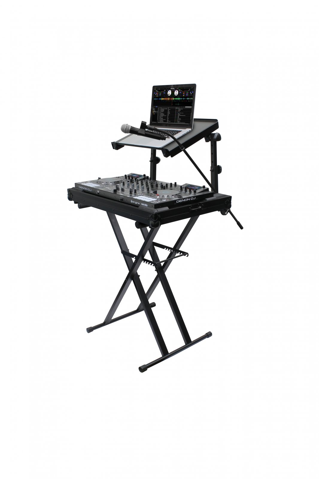 Odyssey Case LTBXS2MTCP - X Stand, Combo Pack, Black