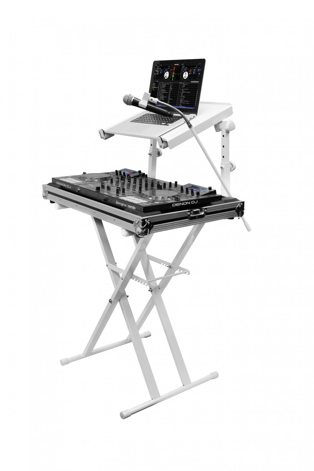 Odyssey Case LTBXS2MTCPWHT - X Stand, Combo Pack, White