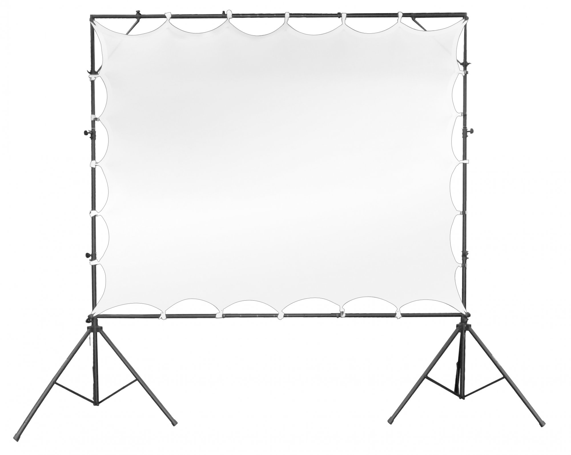 Odyssey Case LTMVSCREEN3 - Video Projection Screen, 7.5' x 5'