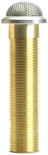 Shure MX395AL/BI Microflex Low Profile Bi-Directional Boundary Mic With 3-pin XLR, Brushed Aluminum