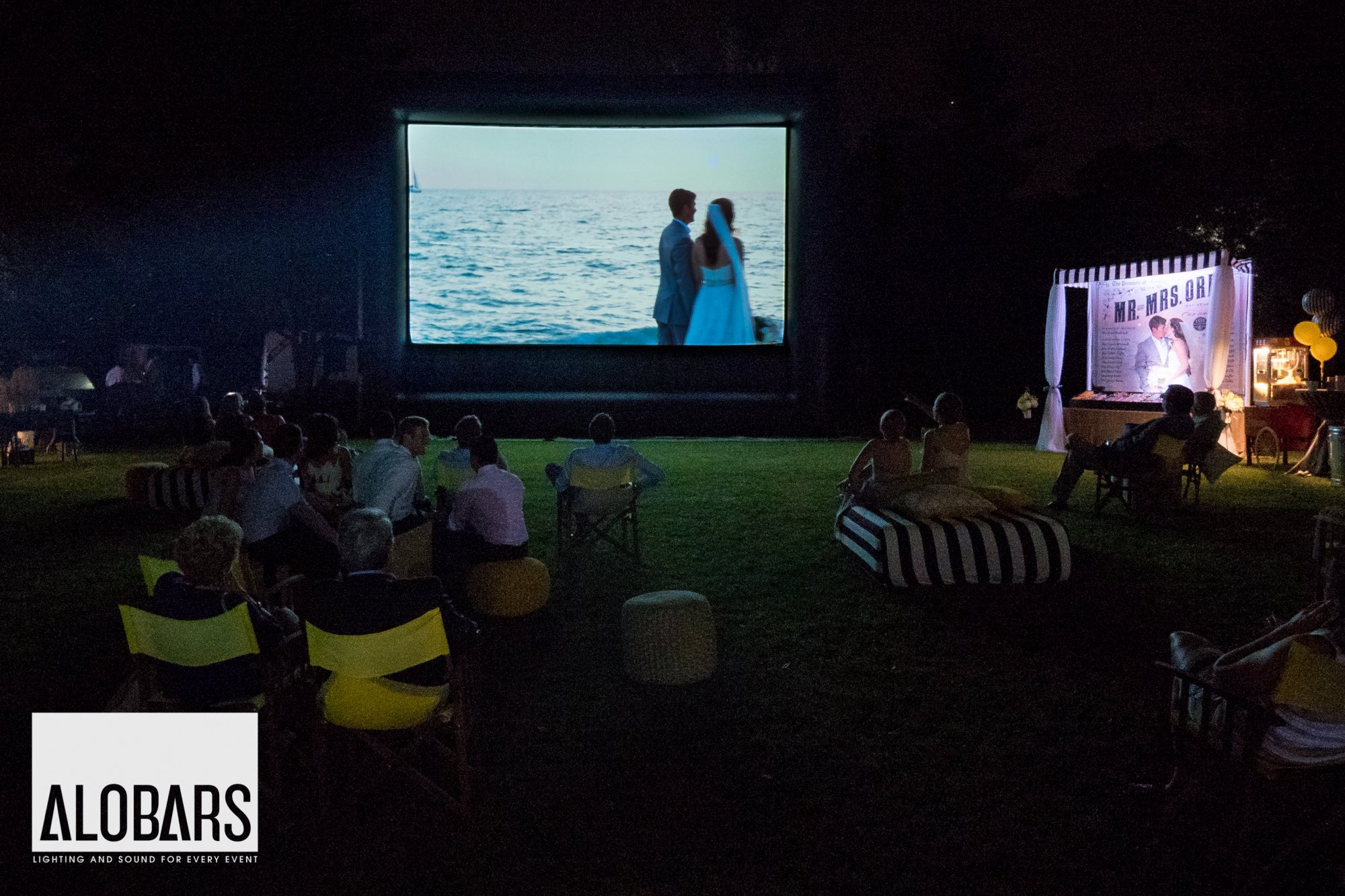 Rental Party Package - Outdoor Movie Night