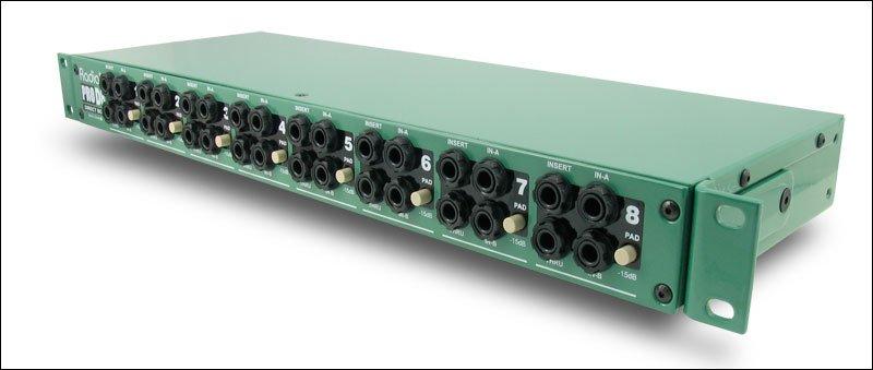 Radial ProD8 - Passive Direct Box, 8 channel, 19 1RU Rack Mountable