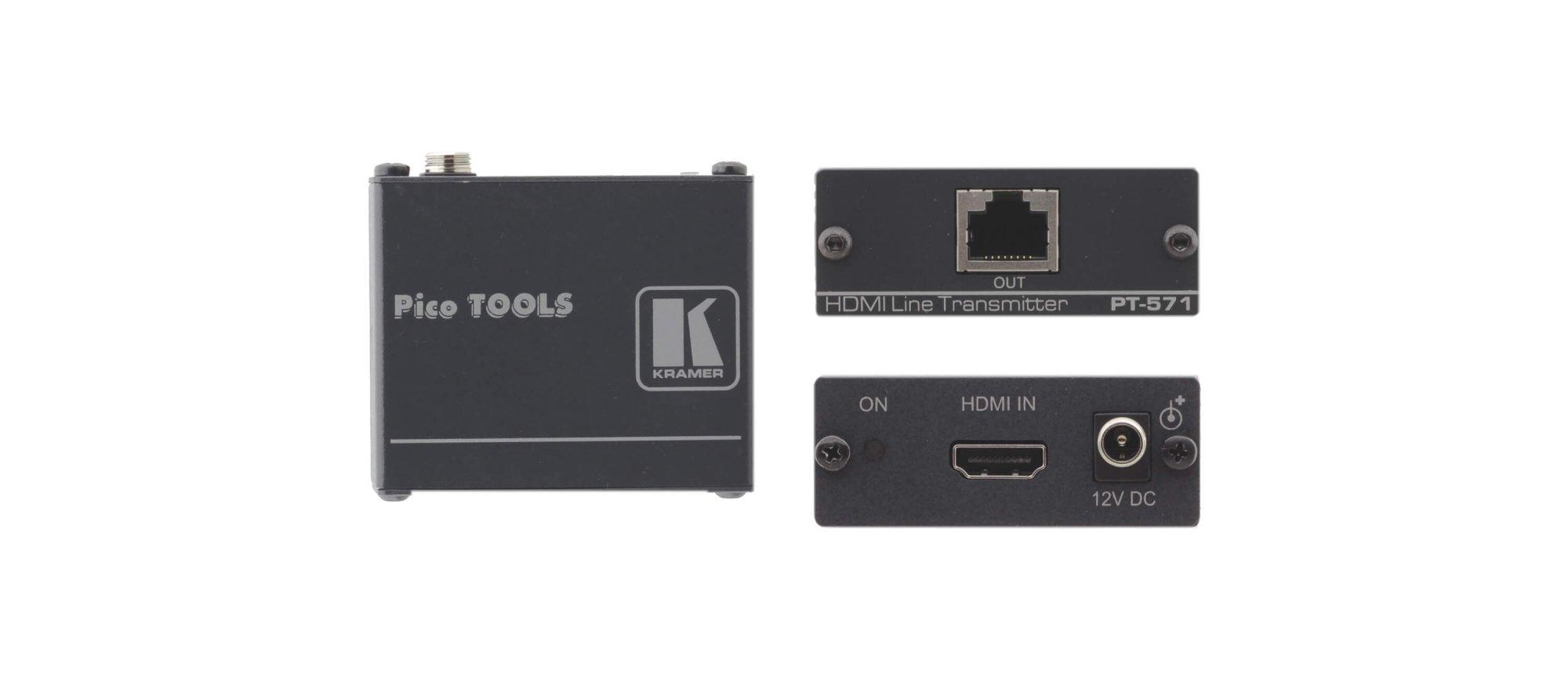 Rental Kramer PT-571 HDMI over Twisted Pair Transmitter - Cat6 Only