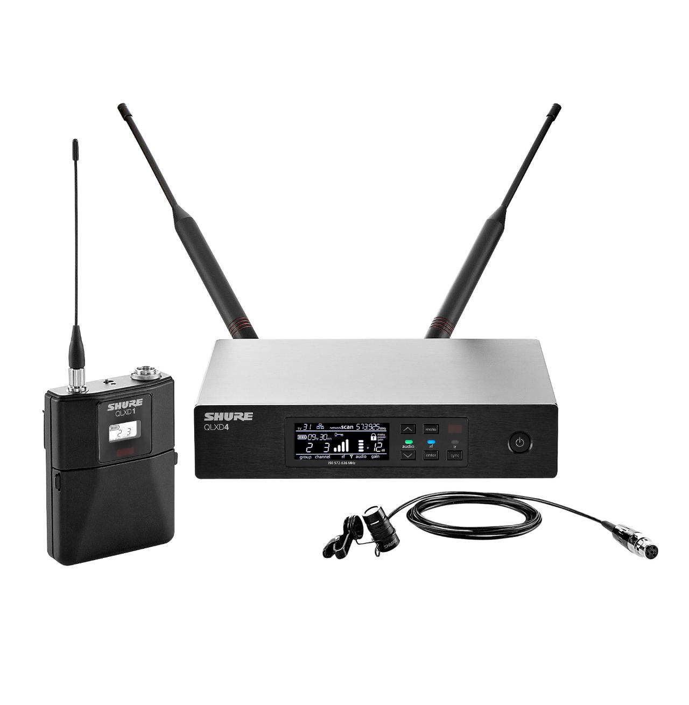 Shure QLXD14/85 Single-Channel Digital Wireless Mic System With WL185 Lavalier