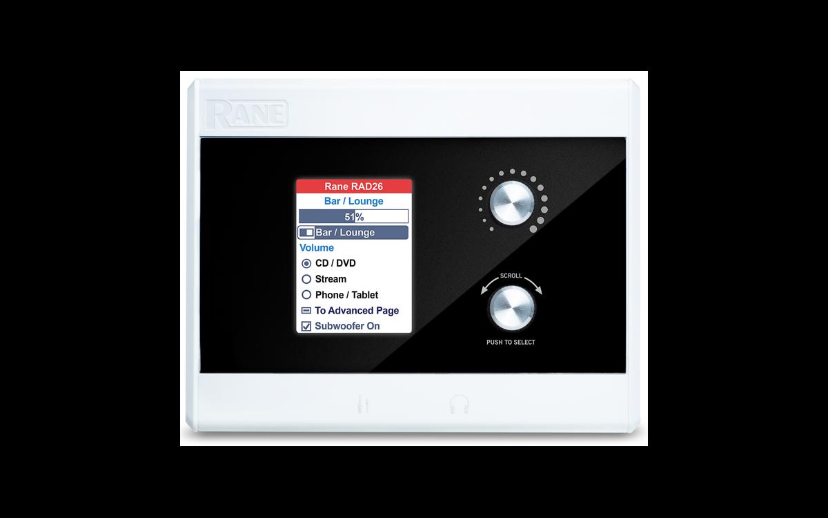 Rane RAD26 Single Room Remote Audio Device Interface