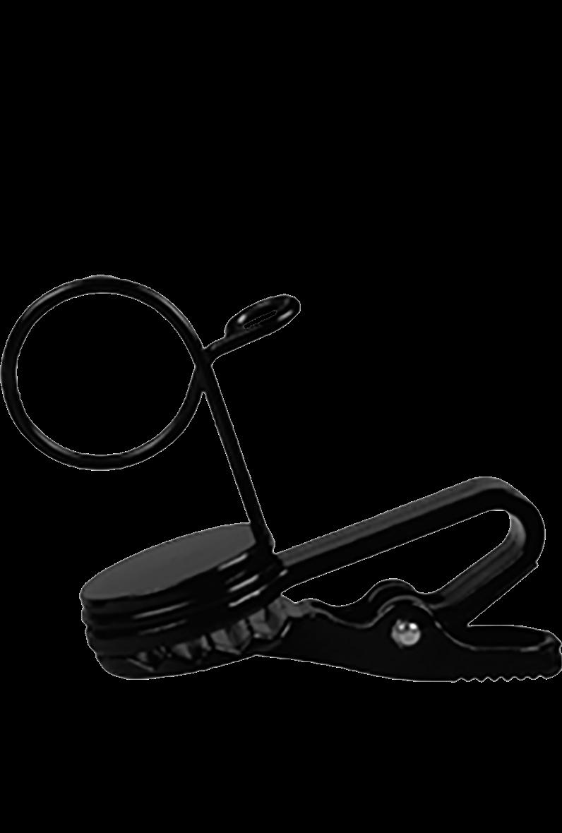 Shure Tie Clip - Lavalier - 2 Pack