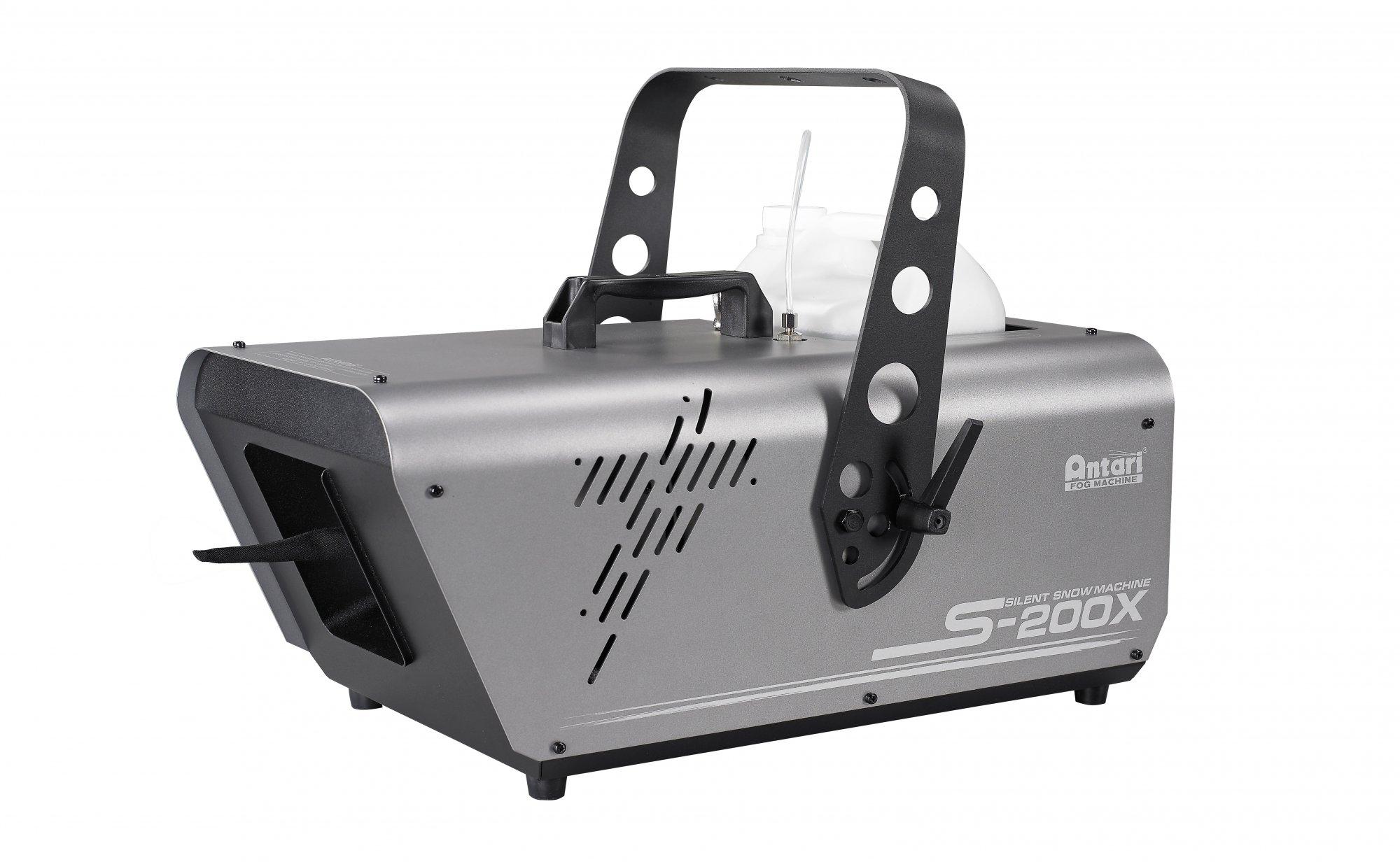 Antari S200X Snow Machine - High Output, Silent Motor