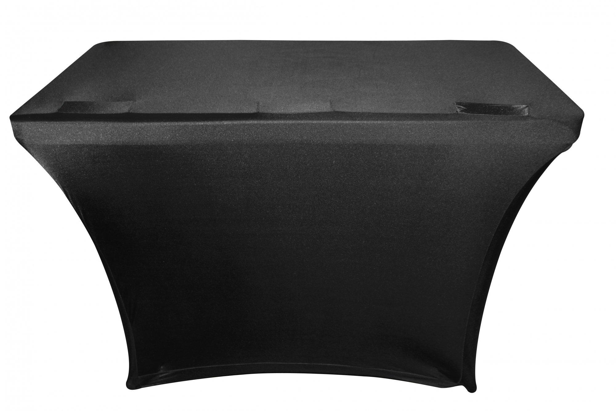 Odyssey Case SPATBL4BLK - Scrim for Banquet Table, 4'  Black