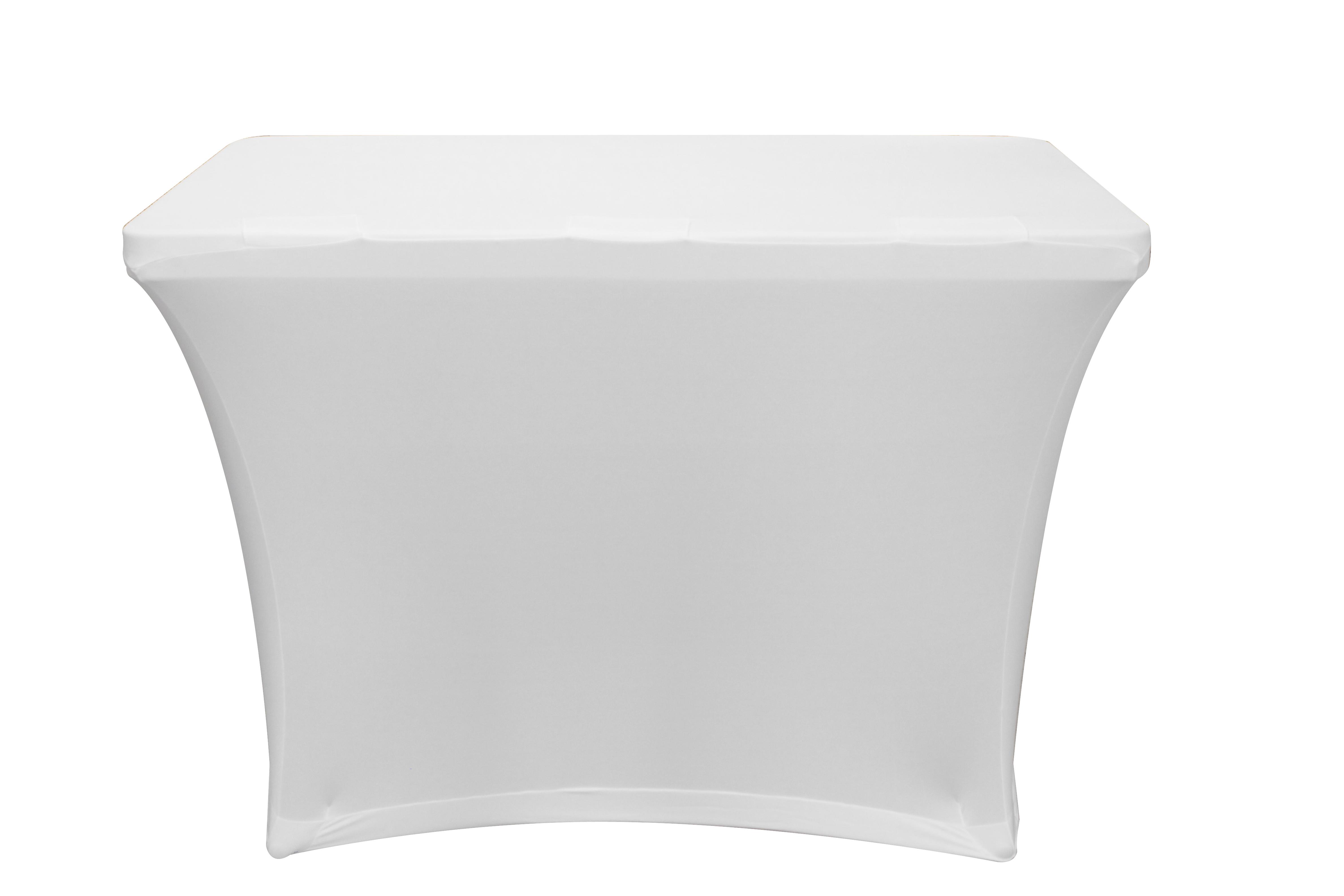 Odyssey Case SPATBL4WHT - Scrim for Banquet Table, 4'  White