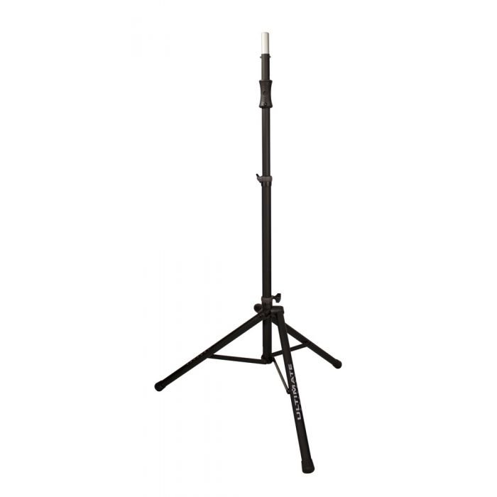 Ultimate Support TS-100B - Air-Powered Series Lift-assist Aluminum Tripod Speaker Stand with Integrated Speaker Adapter