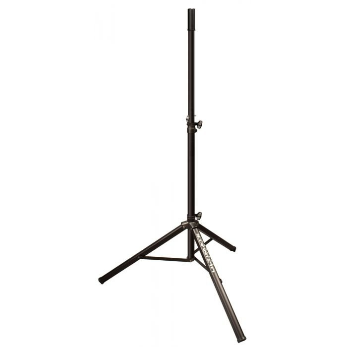 Ultimate Support TS-70B - Aluminum Tripod Speaker Stand with Safe and Secure Locking Pin and 150lb Load Capacity - Black