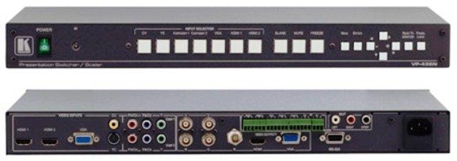 Rental Kramer VP-436 Switcher/Scaler - HDMI, Component, VGA