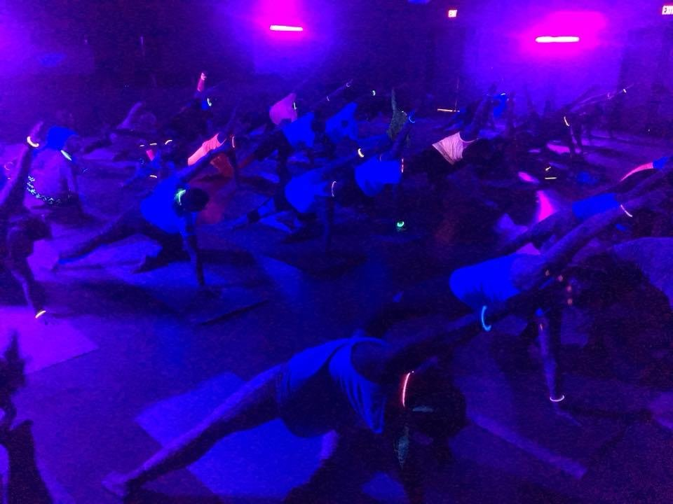 Rental Party Package - Blacklight Party, Small