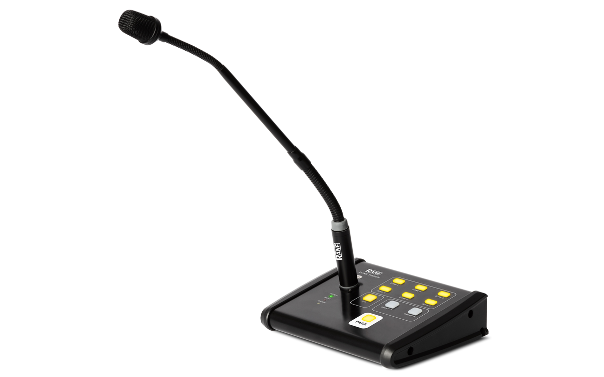 Rane Zone Pager Tabletop Paging Station
