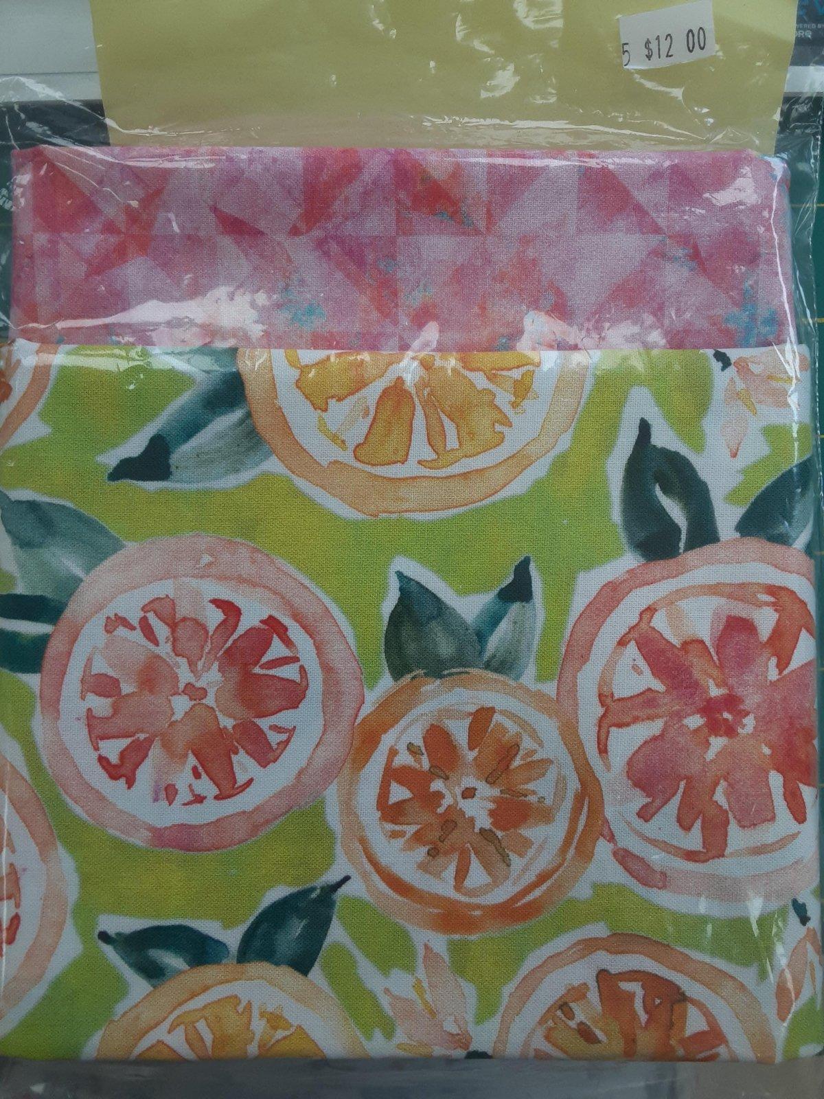 10 Minute Runner - Watercolor Fruit