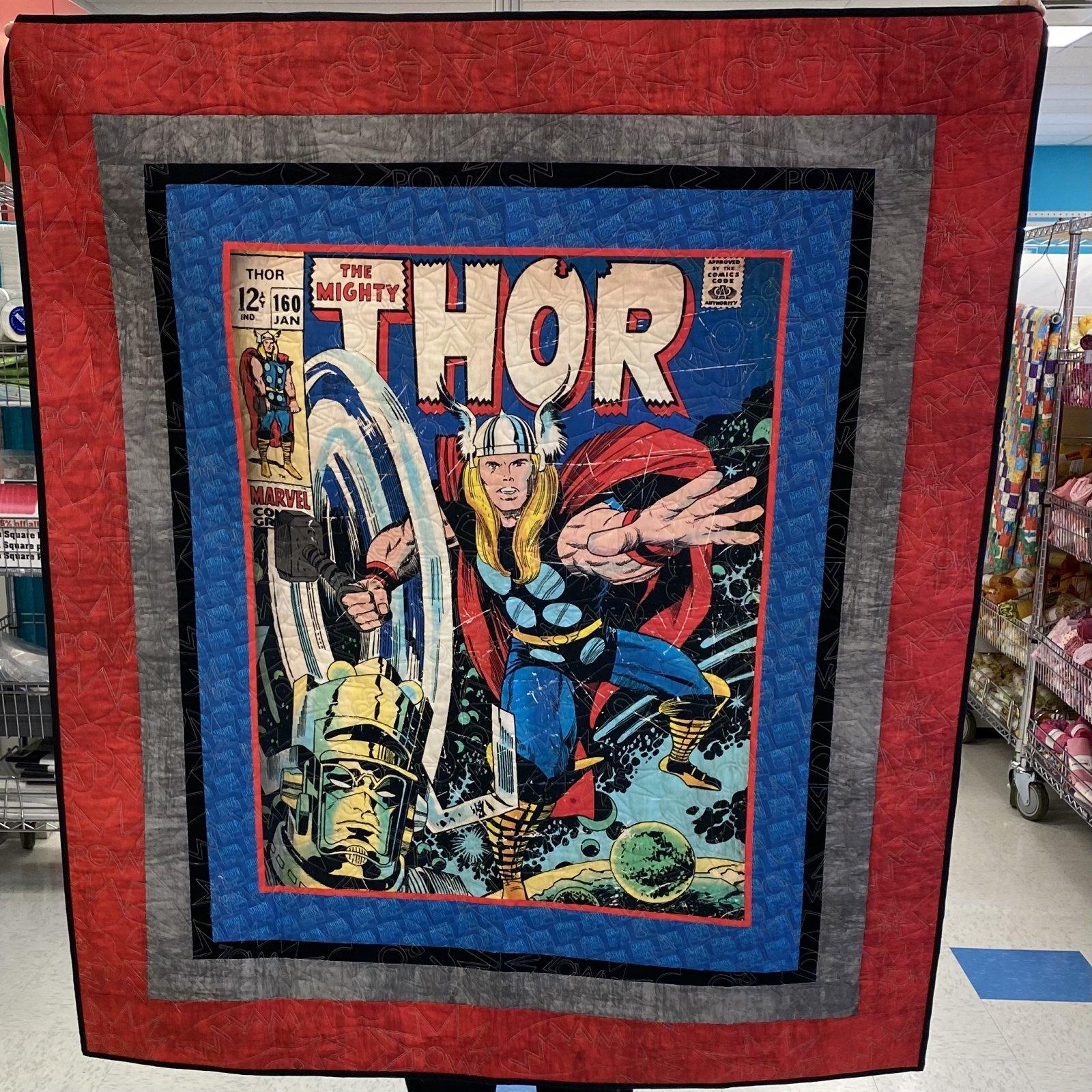 Thor Quilt 49 x 55