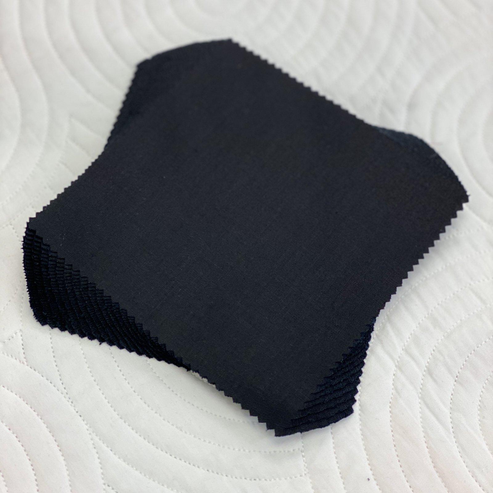 Black 10 Inch Squares